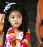 little girl of a dance group from the phillippines