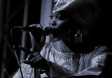 Lady singer of the AFRICAN RYTHM ALL STARS