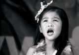 Young girl from the Phillippines