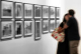The kiss at the exhibition
