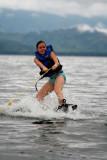 Wakeboarding on Lake Yojoa