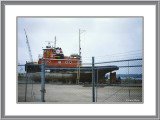 Drydocked Tug at Green Bay