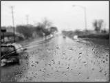 Rain Through Glass