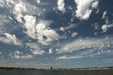 January 26. Clouds over Swan River, Perth