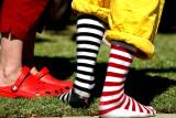 Crocs or Socks