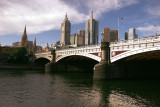 River Yarra and Princes Bridge