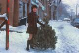 Christmas Tree 1st Year of Marriage Merton Street Toronto