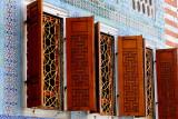The windows of the harem