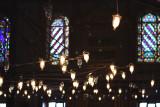 Bright lights, Blue Mosque