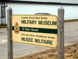 CFB BORDEN MILITARY MUSEUM