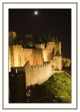 Carcassone : Remparts by night