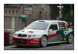 N° 18 - Kopecky Skoda Fabia in the race