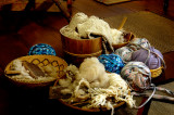 Carding the Wool
