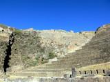 The Inca Ruins at Ollantaytambo