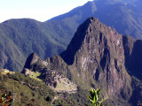 Machu Picchu from About Half Way Up the Sun Gate Trail