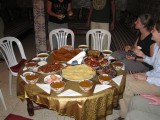 traditional breaking of the fast, I was there durning Ramadan