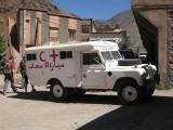 an old ambulance