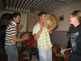 entertainment with dancing to local Berber music