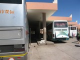 bus station, on to Tinerhir, after arriving there, got a van ride to Todra Gorge