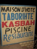 out to eat at Maison D'Hote Taborihte Kasbah Piscine Restaurant