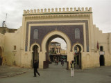 Bab Bou Jeloud, it's the main entrance to the old city
