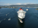 Queen Mary 2 in Bergen - Norway