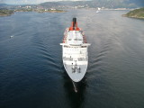 Queen Elizabeth 2 in Bergen Norway 2007