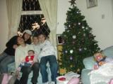 Family Gathering at Christmastime