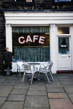 Last of the Summer Wine COMPO'S CAFE in Holmfirth Saddleworth