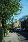 Walking down a Glossop Street