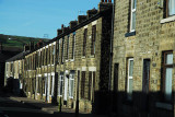 Row of houses in Glossop