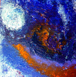 THE BLUE PLANET in Acrylics