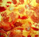 YELLOW MOONS in Acrylics