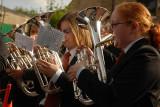 Ladies Trumpet Blowers