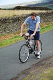 Last of the Summer Wine. Howard on Bike