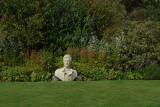Burns Statue Near to His Cottage Scotland
