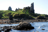 Dunure Castle Ruins on The Ayrshire Coast