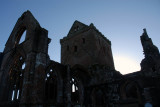 Sweetheart Abbey at Night