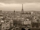 Paris - From Bell Tower of Notre Dame