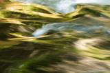 Golden-green streams