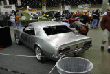 Bare Metal Sanded and Lead-filled Camaro