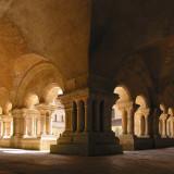 Fontenay Abbey cloister (France)