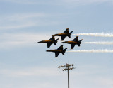 Blue Angels Diamond Over Light Pole.jpg