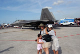 Beth Danny and Erin with F22.jpg