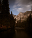 Yosemite Falls from the Merced River Bridge with Housekeeping Camp.jpg