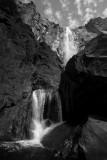 Yosemite Falls from Below Black and White.jpg