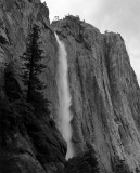 Upper Yosemite Falls Black and White.jpg