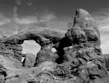 Turret Arch with arch view black and white.jpg