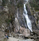 Jane at Aber Falls