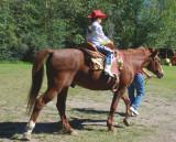 Hailey on Horse